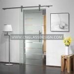 glass sliding door system 1