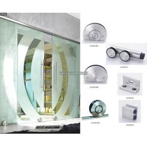 glass sliding door system 10