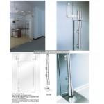 glass swing door