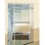 glass shower enclosure