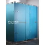washroom partition fitting